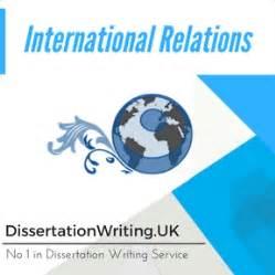 International Relations Dissertation Examples